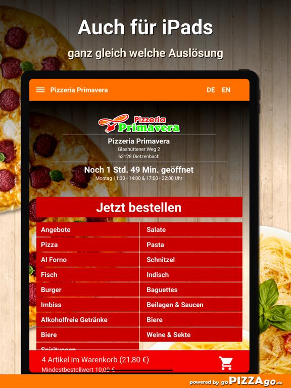 Pizzeria Primavera Dietzenbach screenshot 7
