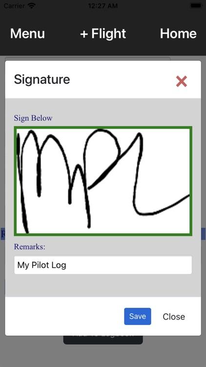 My Pilot Log -  Pilot Logbook screenshot-6