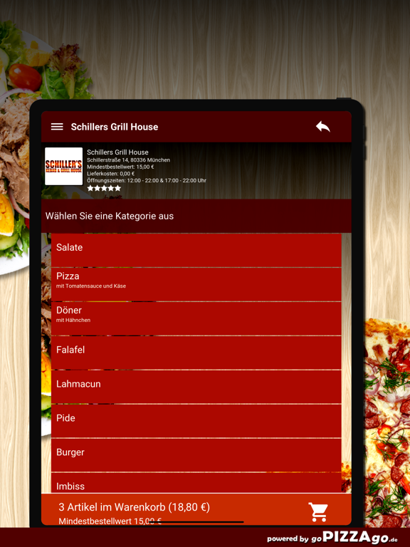 Schillers Grill House München screenshot 8