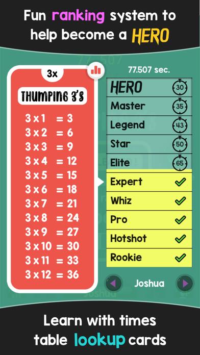 Times Table Hero screenshot 4