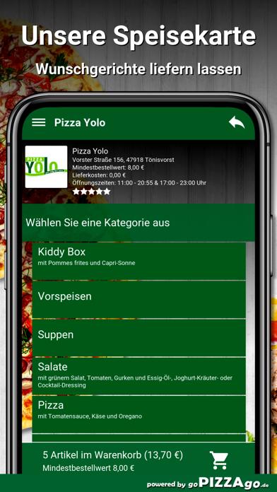 Pizza Yolo Tönisvorst screenshot 4