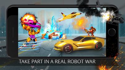 Robot Cars Simulator Games 3D紹介画像2
