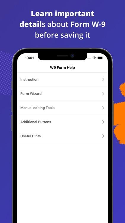 W-9 Form - PDF Template screenshot-4
