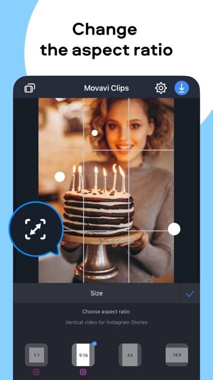 Movavi Clips Edit Video Editor screenshot-5