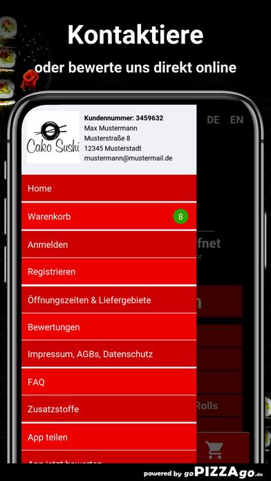 Cako Sushi Berlin screenshot 3