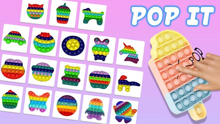 Pop it popop fidget toys