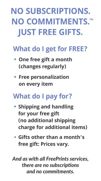 FreePrints Gifts – Fast & Easy screenshot-4