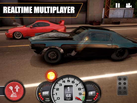 Ipad Screen Shot No Limit Drag Racing 2 9