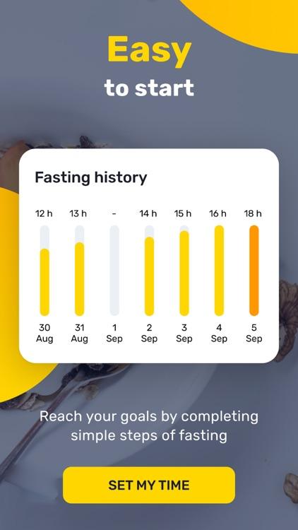 Go Fasting-Weight Loss Tracker screenshot-4