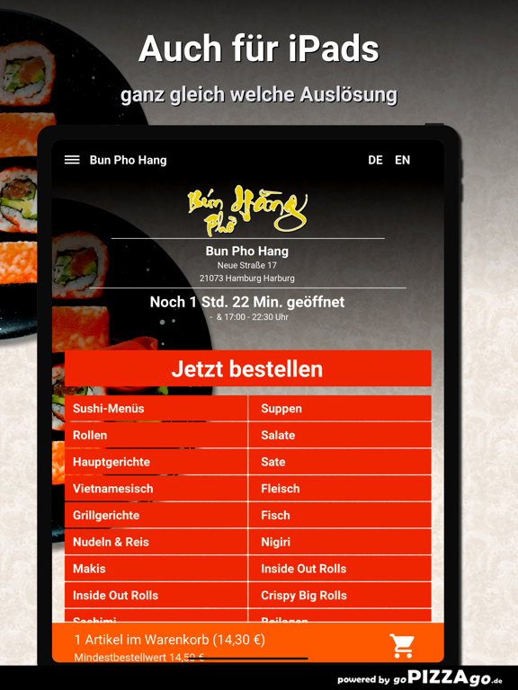 Bun Pho Hang Hamburg Harburg screenshot 8