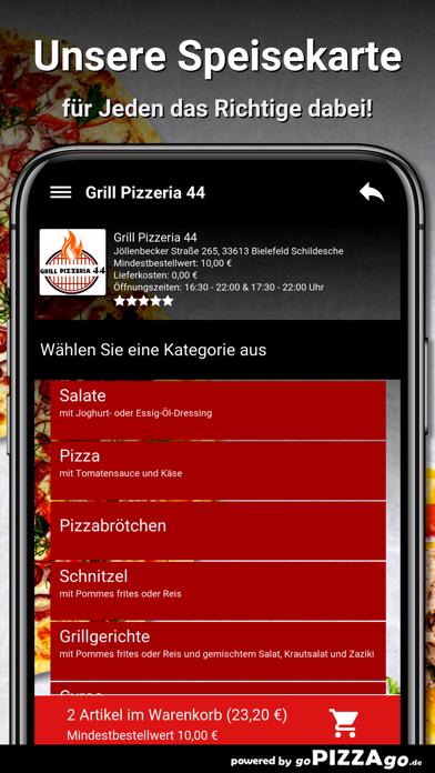 Grill Pizzeria 44 Bielefeld screenshot 4