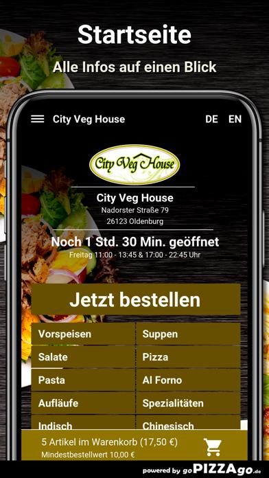 City Veg House Oldenburg screenshot 3