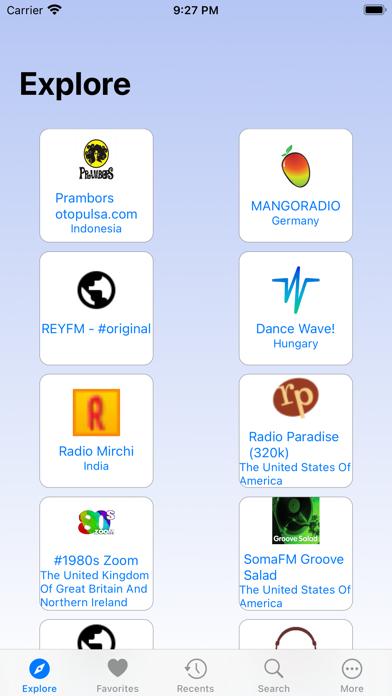 Bulla - Radio Tuner screenshot 1