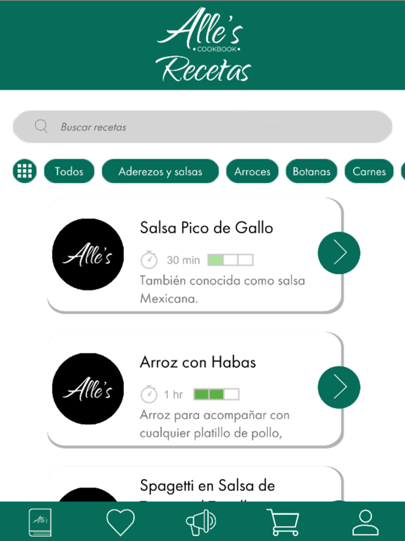 Recetario - Alle's Cookbook screenshot 10