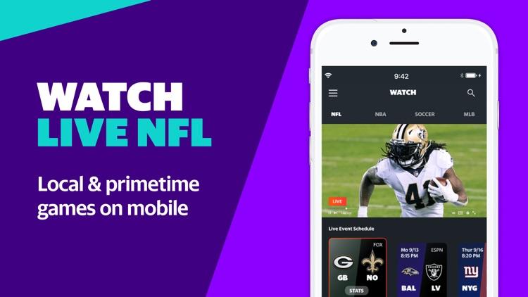 Yahoo Sports: watch NFL games screenshot-0