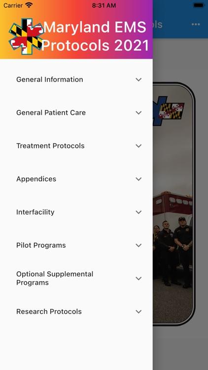 Maryland EMS Protocols 2021 screenshot-4