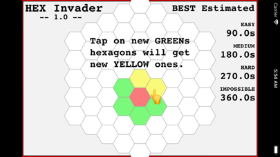 Hexagon Invader screenshot 9