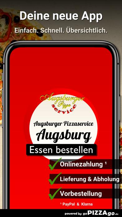 Augsburger Pizzaservice Augsb screenshot 1