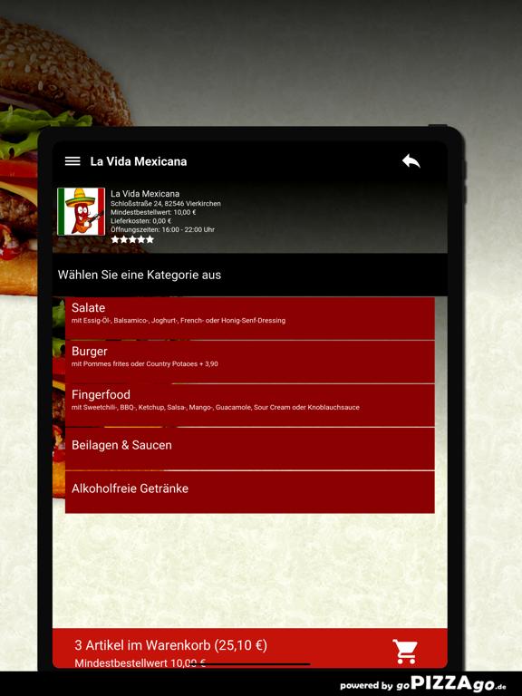 La Vida Mexicana Vierkirchen screenshot 8