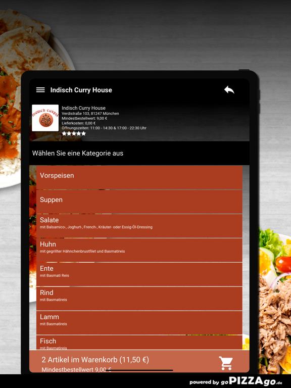 Indisch Curry House München screenshot 8