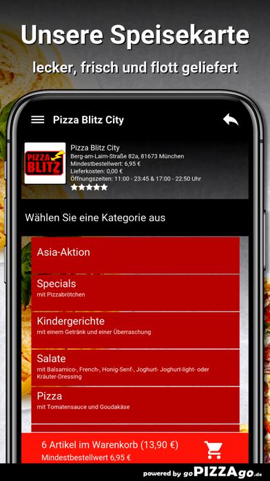 Pizza Blitz City München screenshot 4