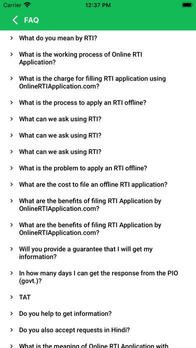 Online RTI Application screenshot 3