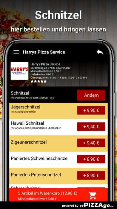 Harrys Pizza Beverungen screenshot 6