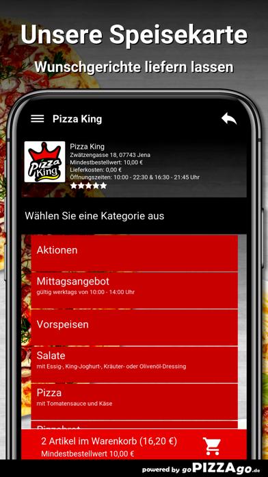 Pizza King Jena screenshot 4