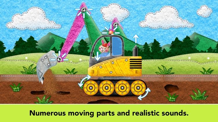 Kids Vehicles Fire Truck games screenshot-6