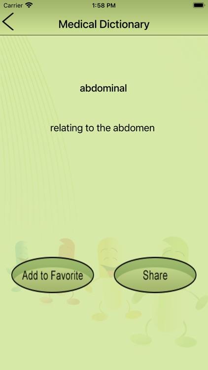 Medical Dictionary- Offline screenshot-3