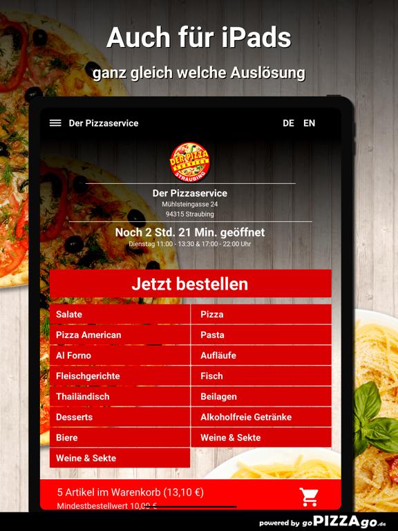 Der Pizzaservice Straubing screenshot 7