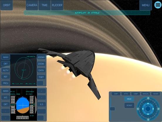 Space Simulator iPad app afbeelding 6