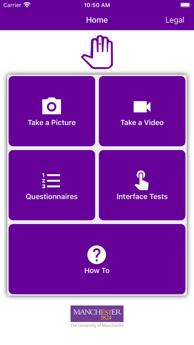 SALVE App screenshot 1