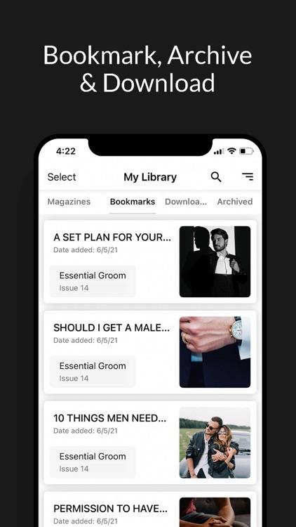 Essential Groom screenshot-3