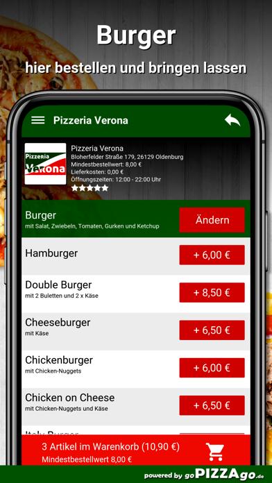 Pizzeria Verona Oldenburg screenshot 6