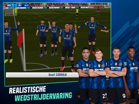 Soccer Manager 2022 iPad app afbeelding 1