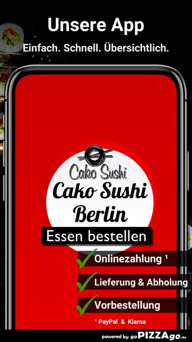 Cako Sushi Berlin screenshot 1
