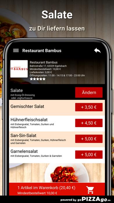 Restaurant Bambus Egelsbach screenshot 5