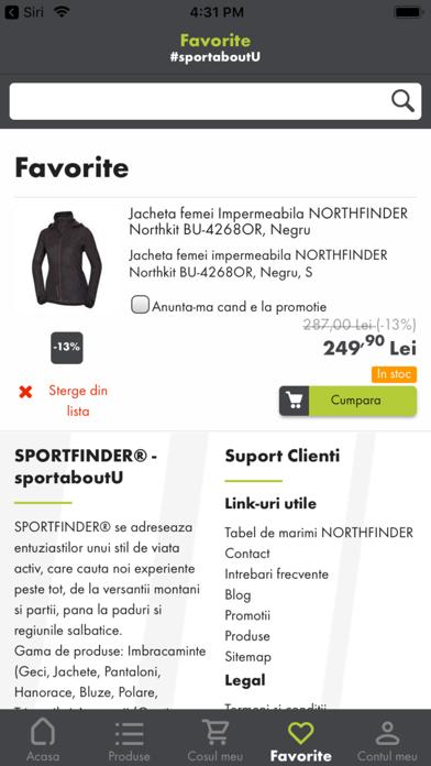 Sportfinder screenshot 5