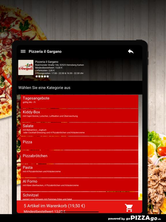 Pizzeria il Gargano Heinsberg screenshot 8