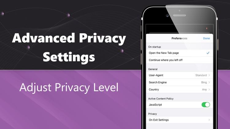 TOR Browser Private Web + VPN screenshot-3