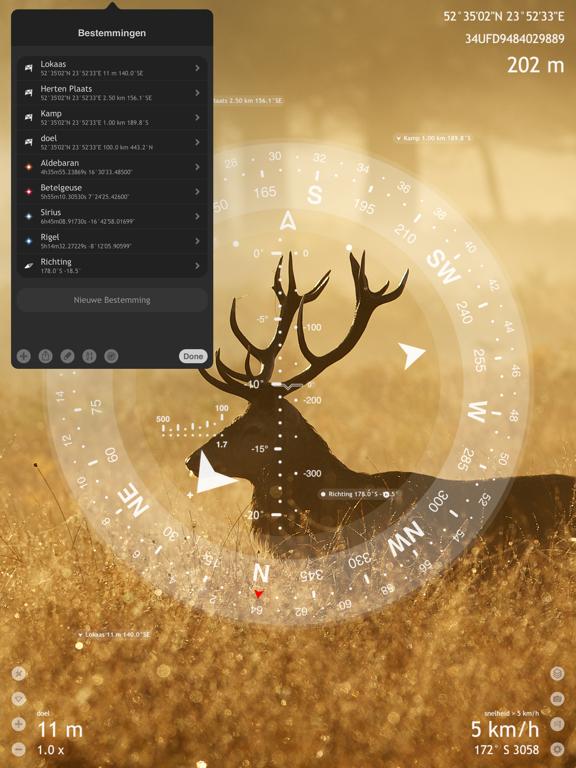 Commander Compass Go iPad app afbeelding 9