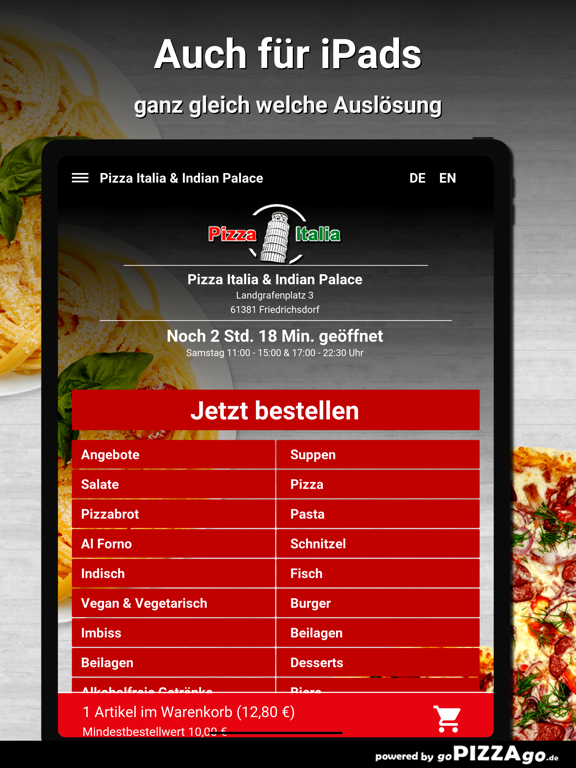 Pizza Italia & Indian Palace screenshot 7