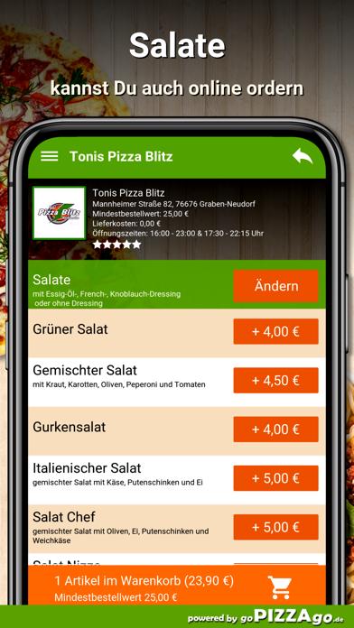 Pizza Blitz Graben-Neudorf screenshot 5
