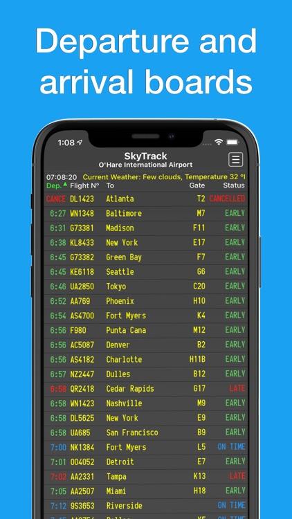 SkyTrack flight tracker aware screenshot-5
