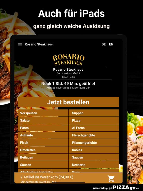Rosario Steakhaus Berlin screenshot 7