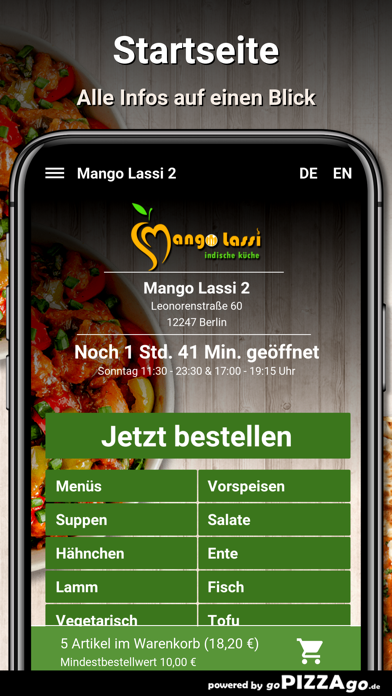 Mango Lassi 2 Berlin screenshot 2