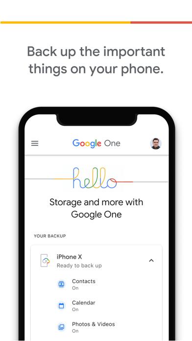 Google One Screenshot