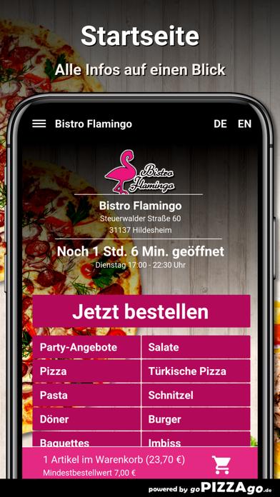 Bistro Flamingo Hildesheim screenshot 2