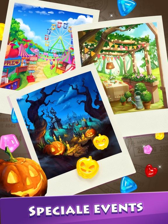 Gummy Drop! Match 3-puzzels iPad app afbeelding 4